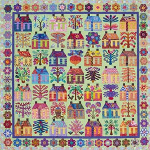 Houses and Trees full quilt