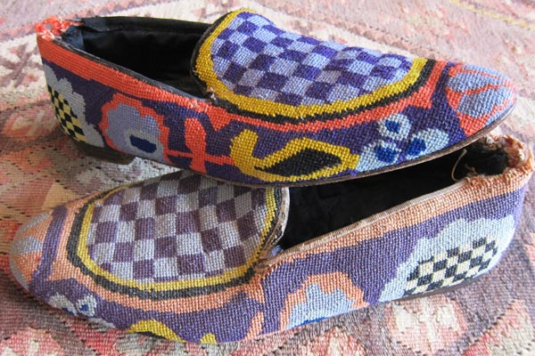 Kaffe Fassett - Needlepoint slippers