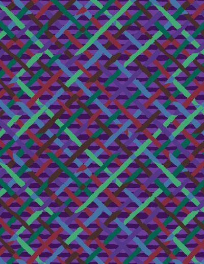 Mad Plaid - PWBM037 - Purple