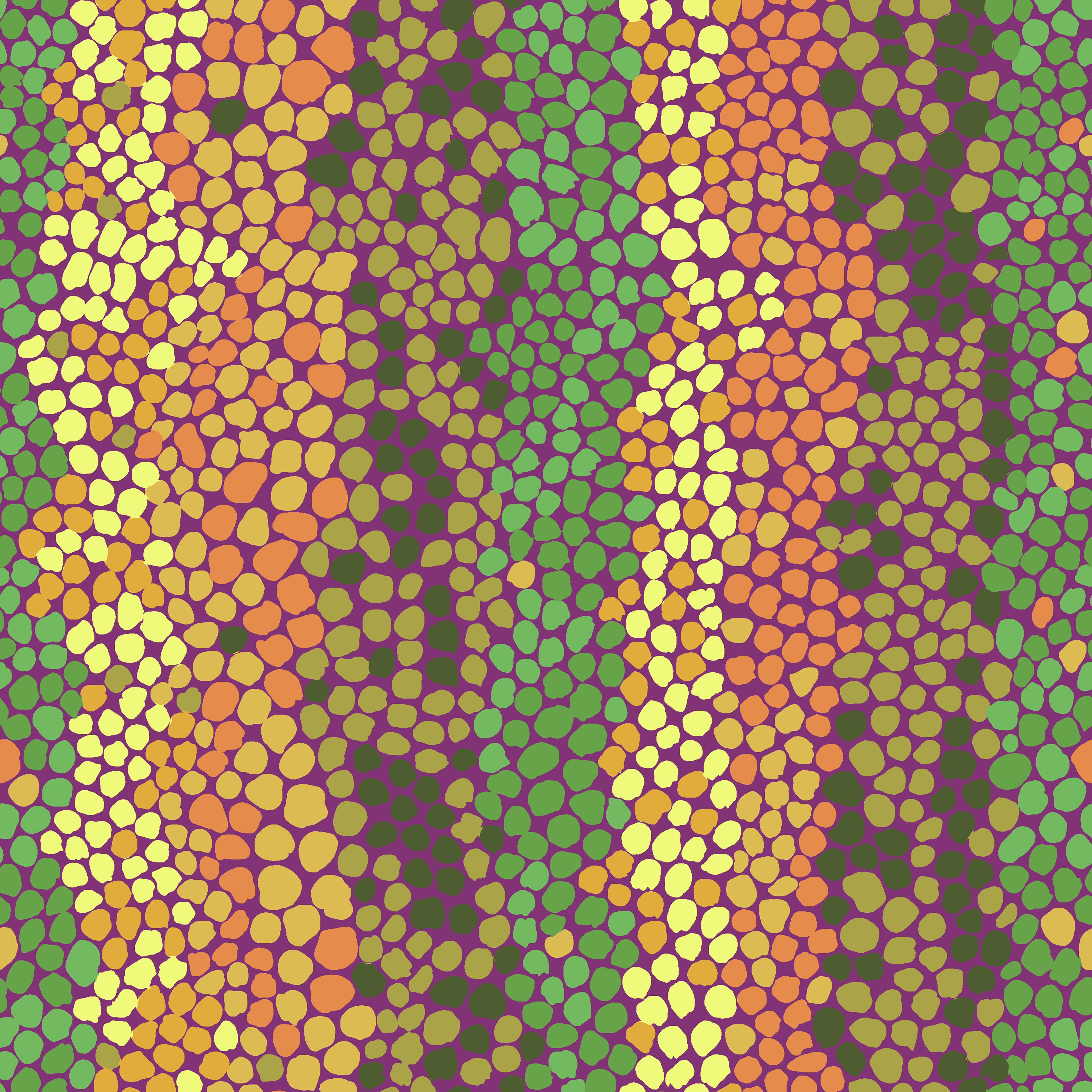 Pebble Mosaic - PWBM042 - Jungle