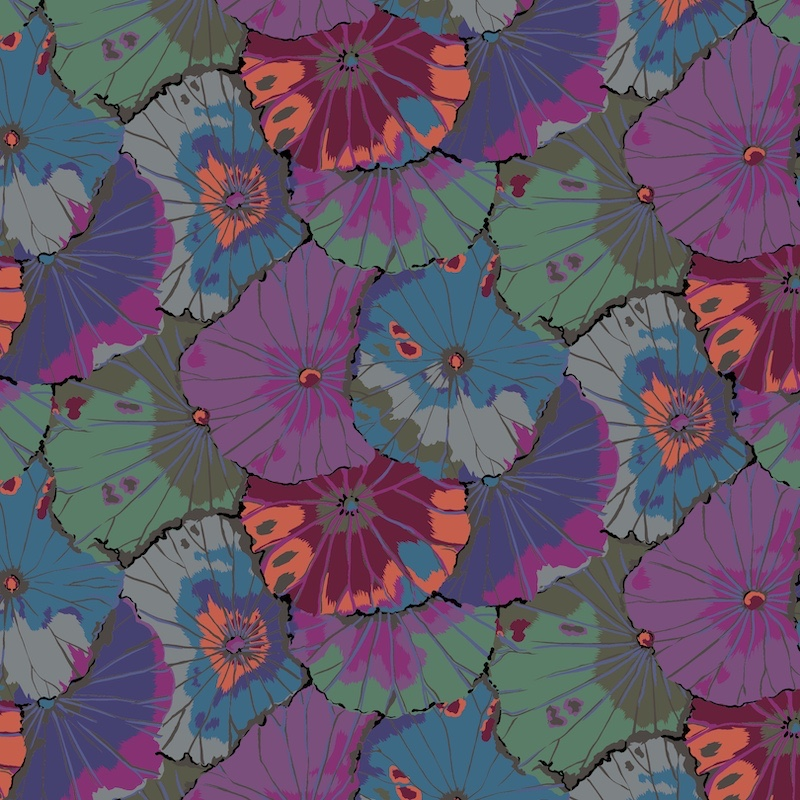 Lotus Leaf - PWGP029 - Vintage