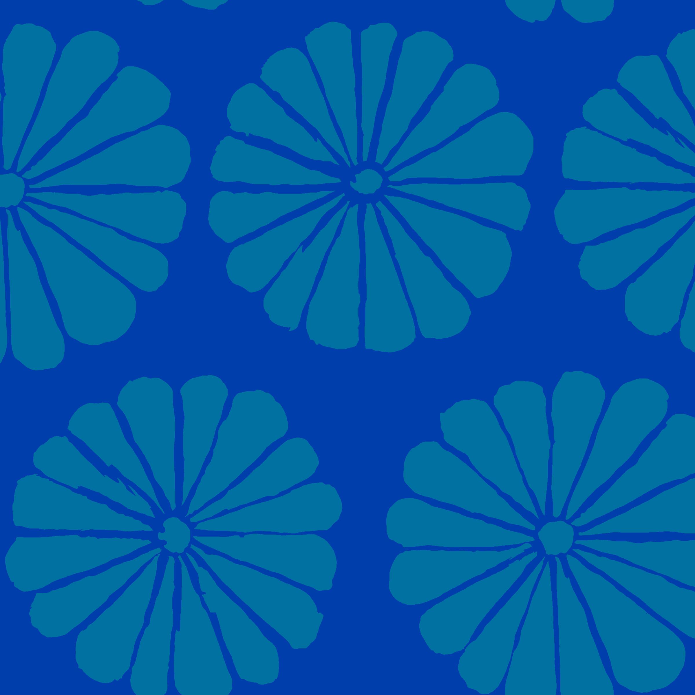 Damask Flower - PWGP183 - Blue