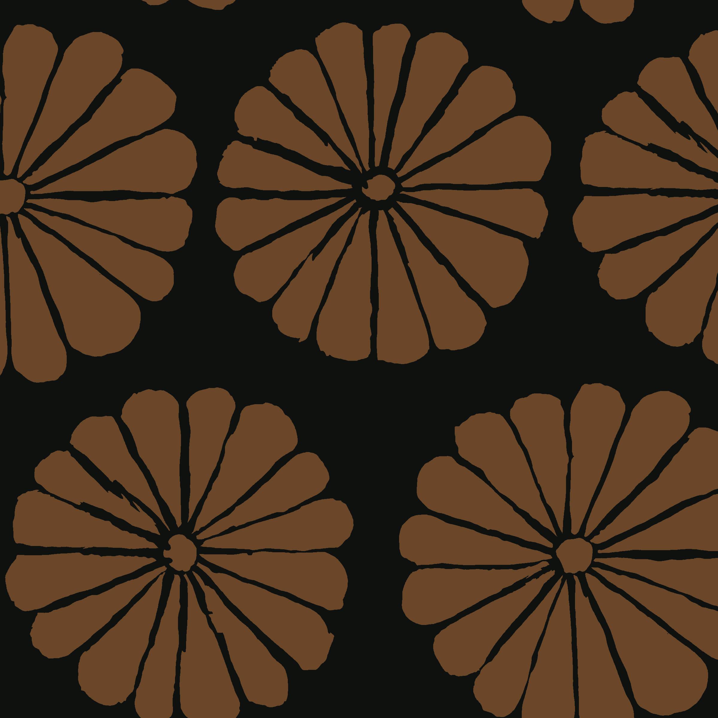 Damask Flower - PWGP183 - Brown