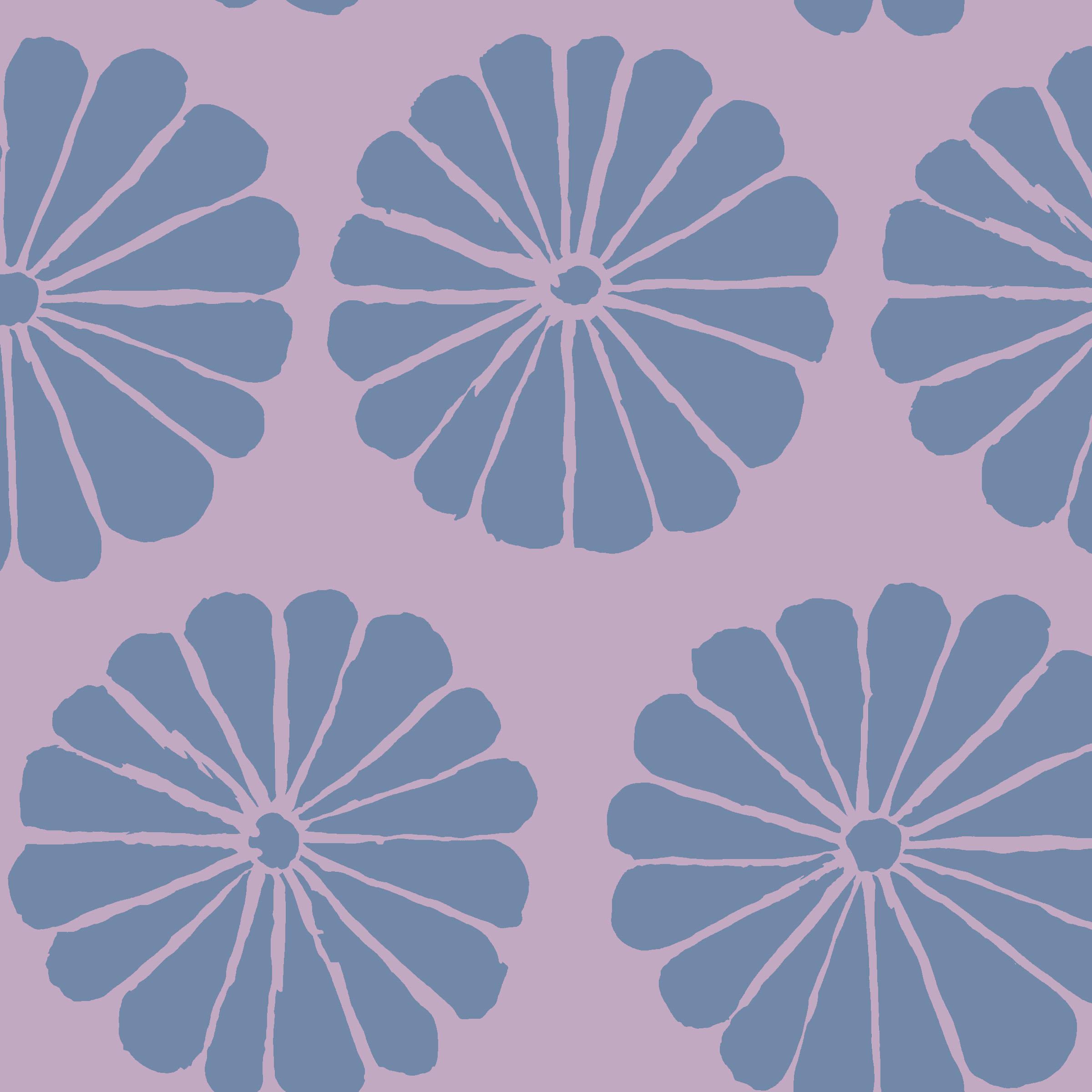 Damask Flower - PWGP183 - Lilac