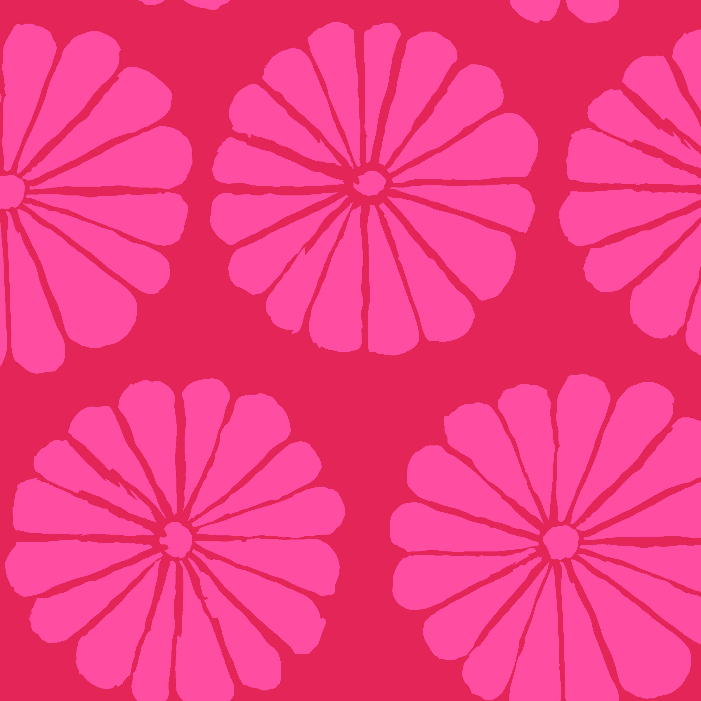Damask Flower - PWGP183 - Magenta