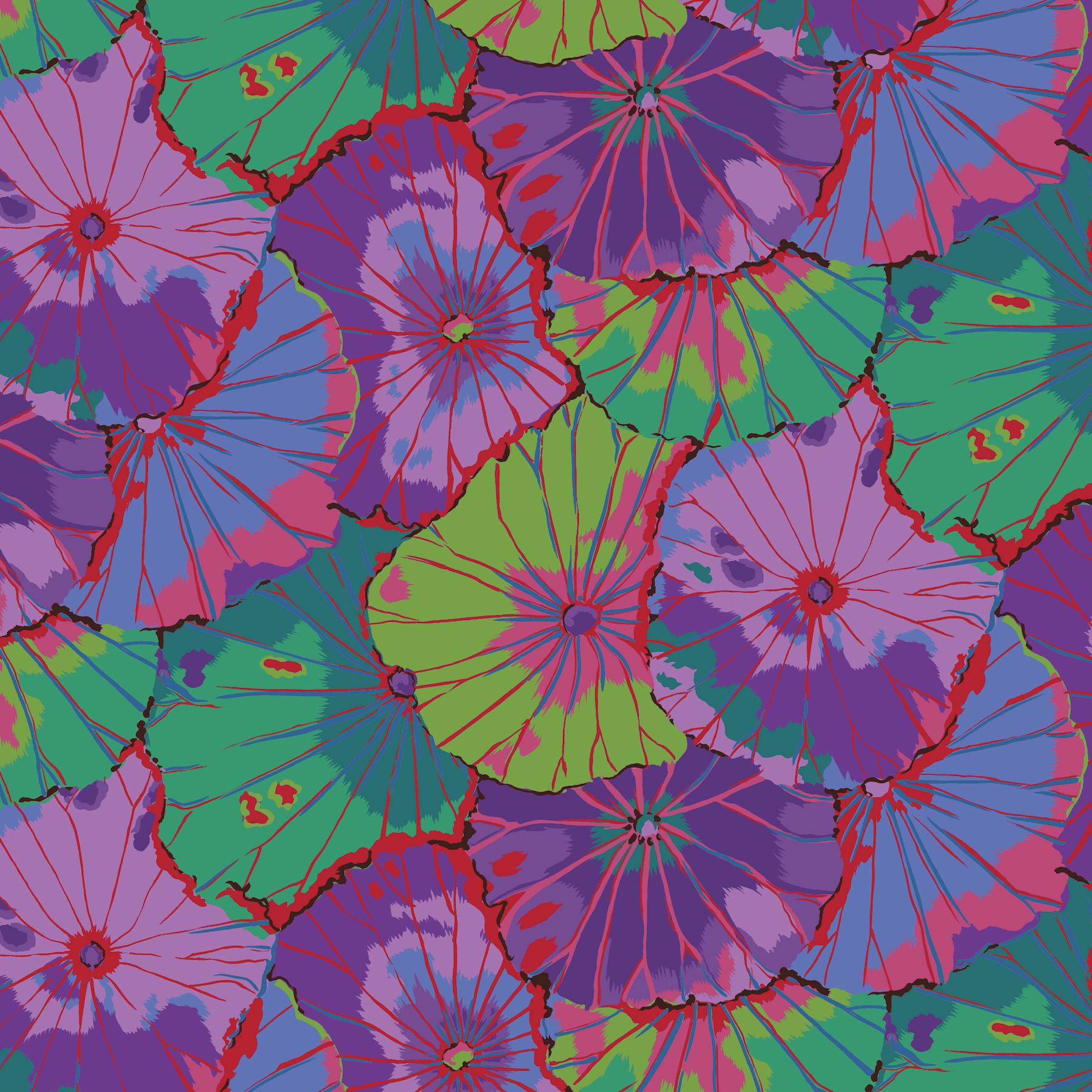 Lotus Leaf - WIDE BACK - QBGP007 - Purple