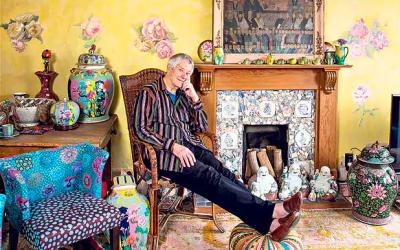 My space: Kaffe Fassett, textiles designer