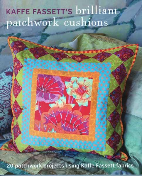 Kaffe Fassett's Brilliant Patchwork Cushions