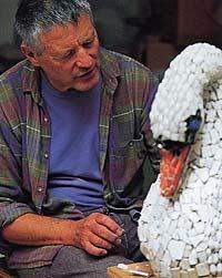 kaffe fassett - mosaic swan